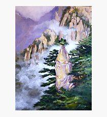 Huang Shan Magic brush Photographic Print