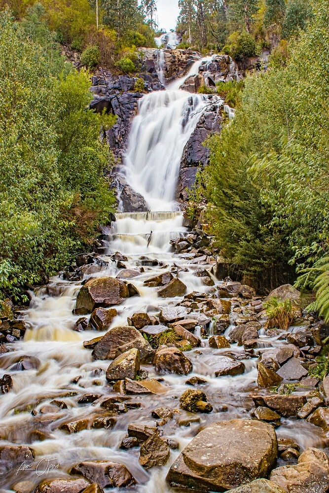 Splendid Waterfall by Aiin Ojani