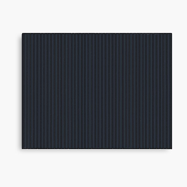 Grey Pinstripe pattern Canvas Print