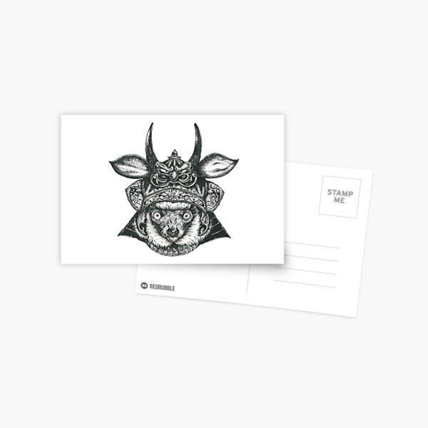 Lemur Ronin Postcard