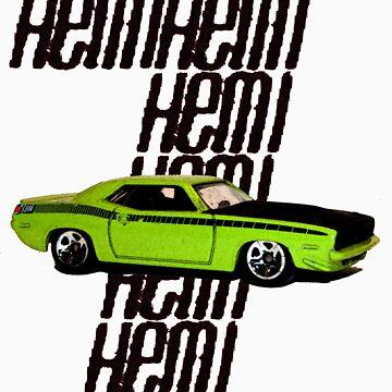 Plymouth Hemi Cuda '71 by csabagyurak