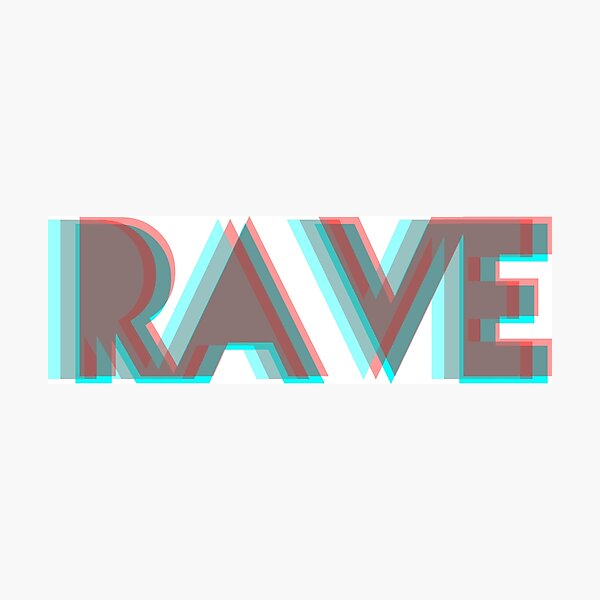 RAVE Photographic Print