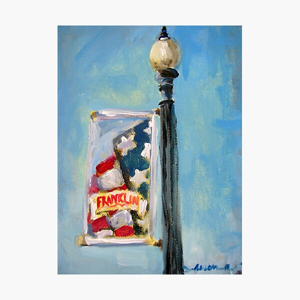 Banners of Franklin - Summer Photographic Print