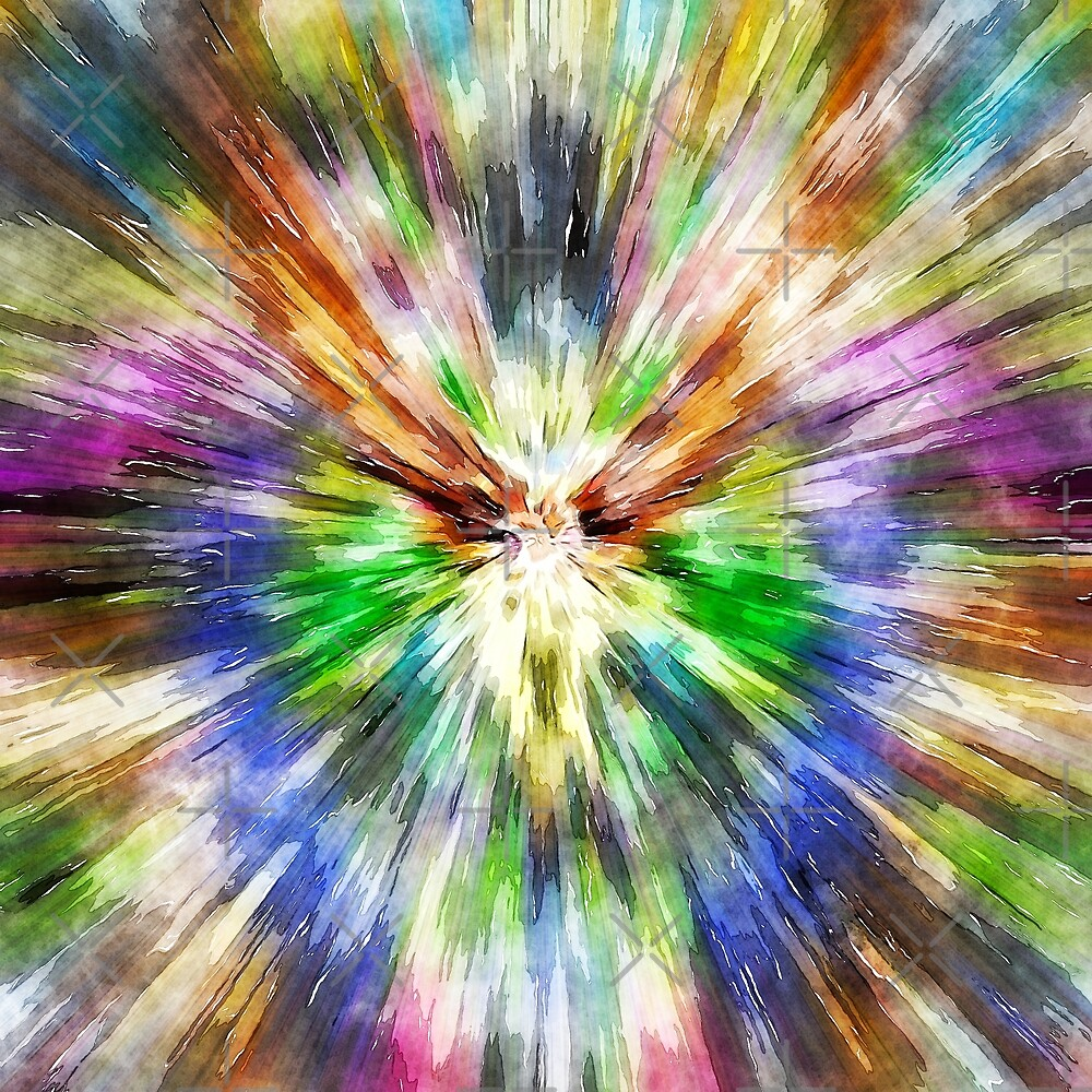 Tie Dye Starburst by Phil Perkins