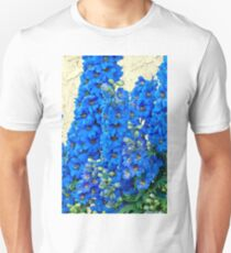 Blue, Blue Delpheniums T-Shirt