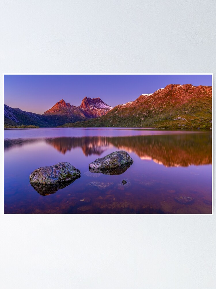 Alternate view of Cradle Mountain Sunrise Poster