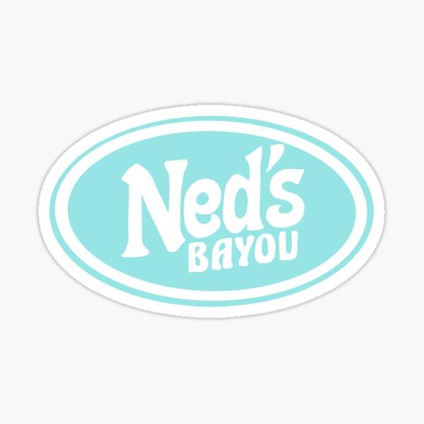 nedly ned's bayou Sticker