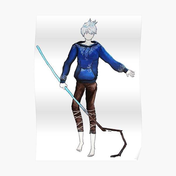 Jack Frost in the air (Rise of the Guardians) Poster