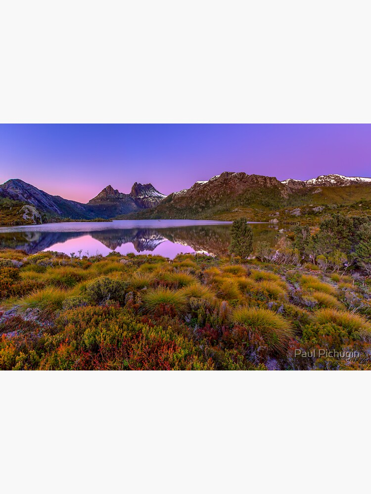 Dove Lake Reflections by paulmp