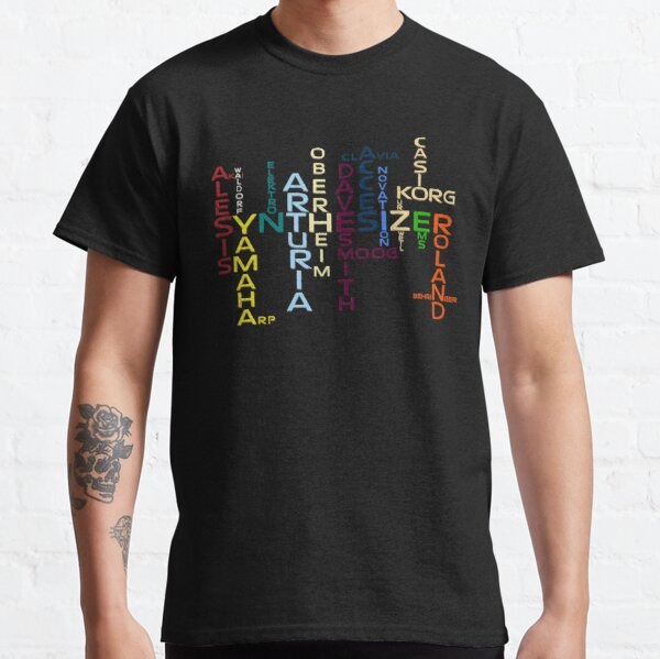 Synthesizer Companies Classic T-Shirt