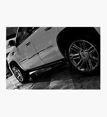 Cadillac (Side)  Photographic Print