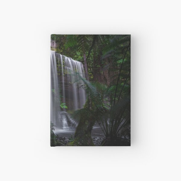 Russell Falls, Tasmania Hardcover Journal