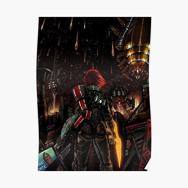 Mass Effect - Shepard told us... Poster
