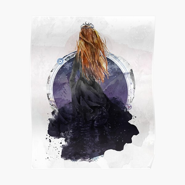 Feyre Archeron - High Lady of the Night Court Poster