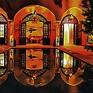 Atmospheric Riad At Night Marrakesh by Dorothy Berry-Lound