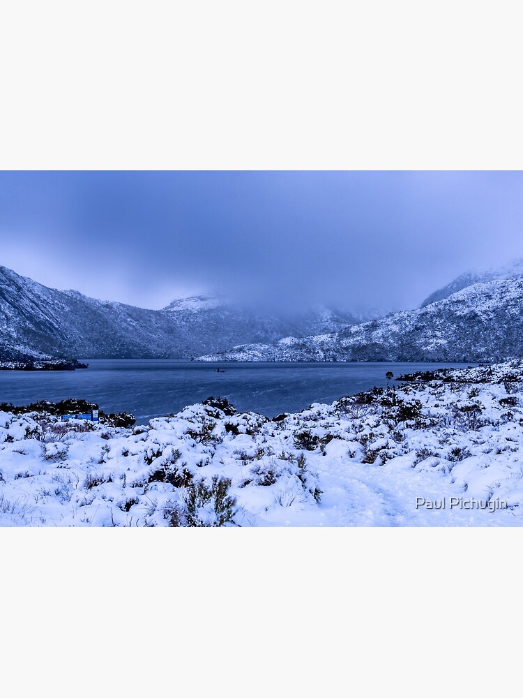 Dove Lake in the Snow by paulmp