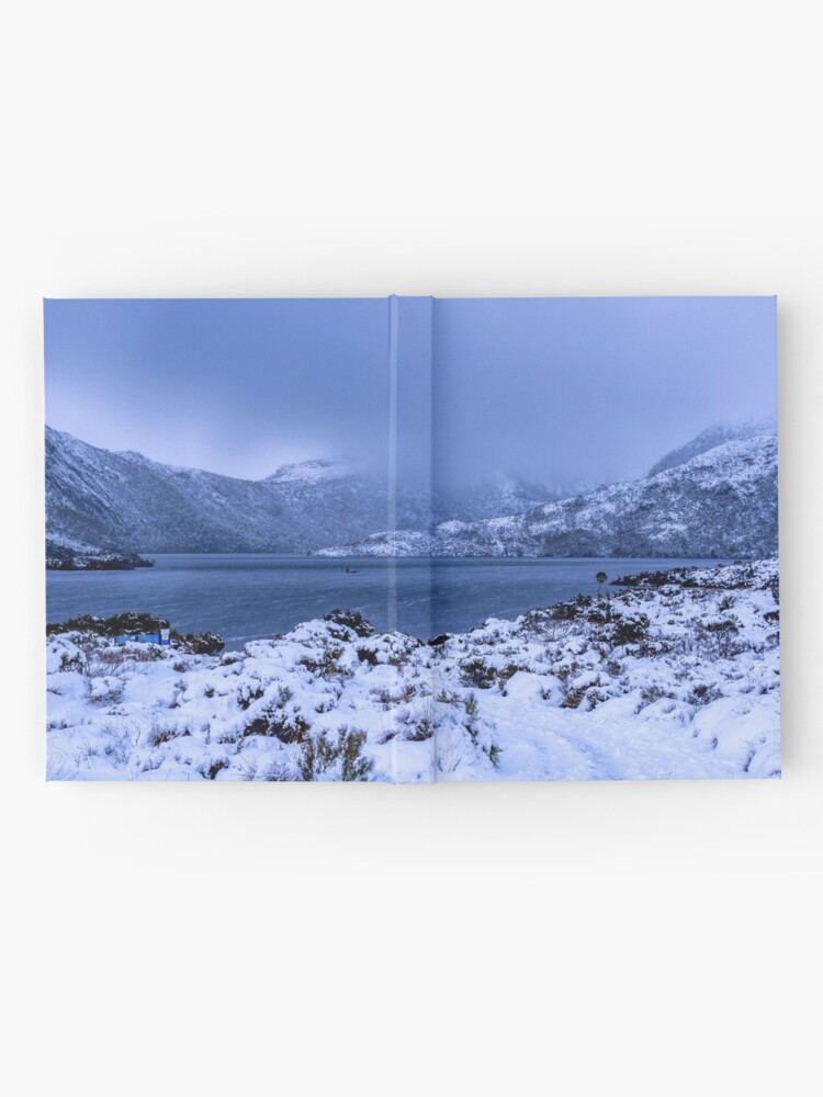 Alternate view of Dove Lake in the Snow Hardcover Journal