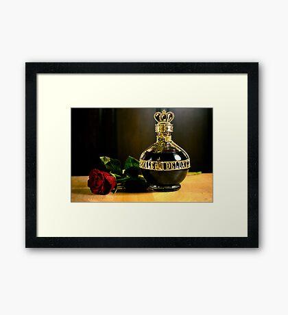 Golden Royale Delux Framed Print