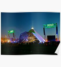 The Pyramid Stage @ 40 Poster