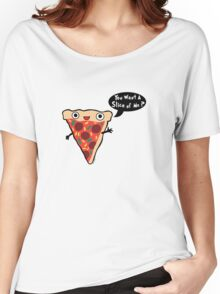 Pizza Monster Women's Relaxed Fit T-Shirt