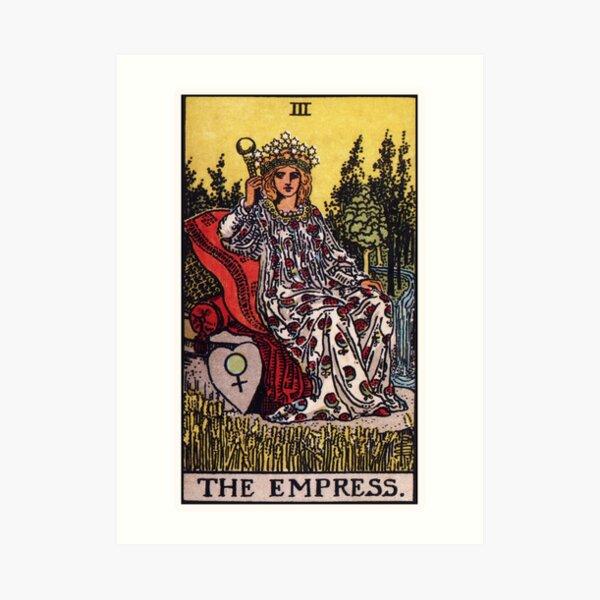 III. The Empress Tarot Card Art Print