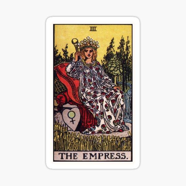 III. The Empress Tarot Card Sticker