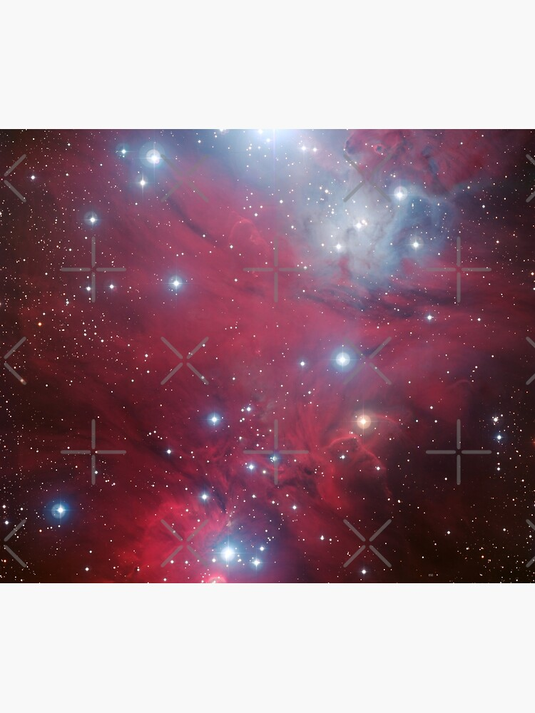 Christmas Tree cluster and NGC 2264 red stars nebula in Monoceros constellation ESO Space Telescope Picture HD HIGH QUALITY by iresist
