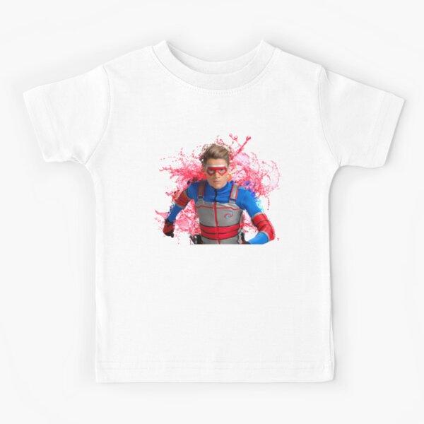 Peligro para los niños - salpicaduras de agua Camiseta para niños