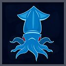 Blue Squid by MadGear