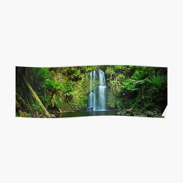 Beachamp Falls, Otways, Great Ocean Road, Victoria, Australia Poster