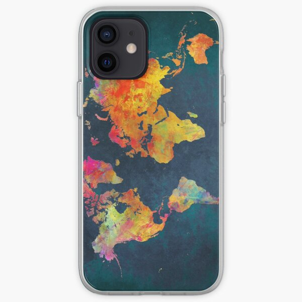 World Map  iPhone Soft Case