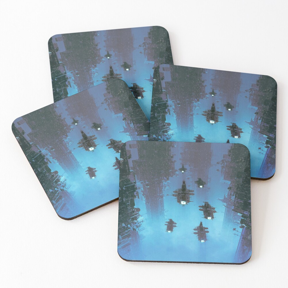 The Voyage Home Coasters (Set of 4)
