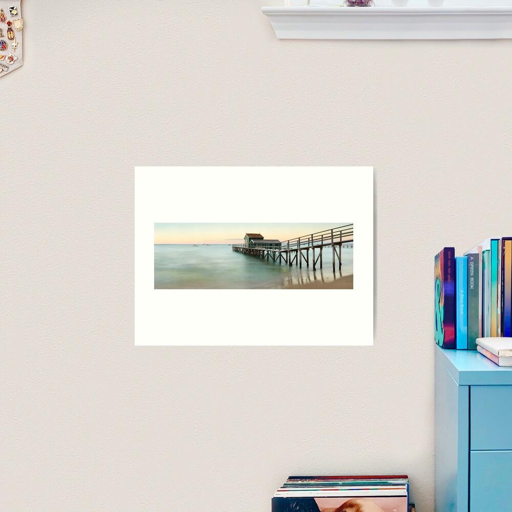 Portsea Pier, Mornington Peninsula, Victoria, Australia Art Print