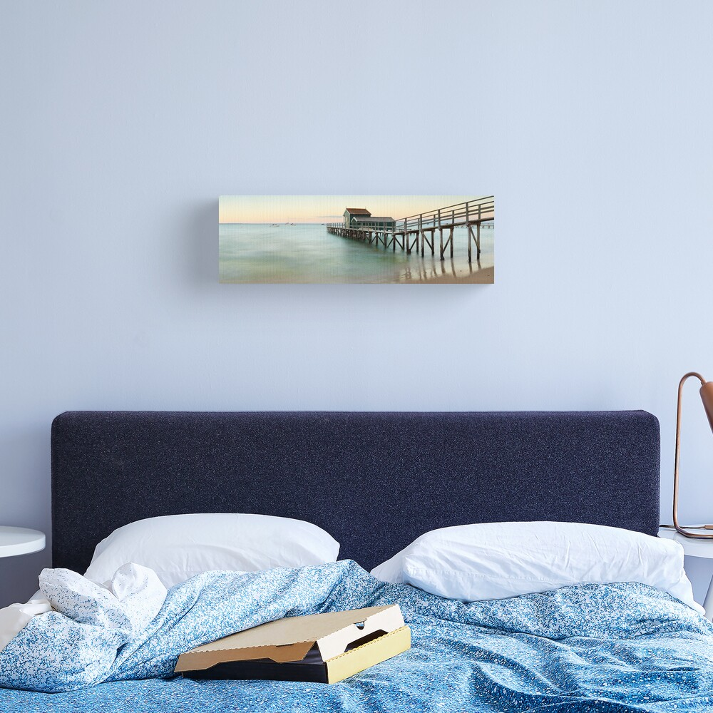 Portsea Pier, Mornington Peninsula, Victoria, Australia Canvas Print