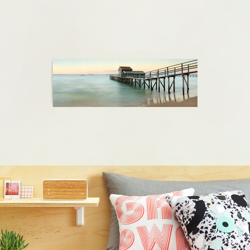 Portsea Pier, Mornington Peninsula, Victoria, Australia Photographic Print