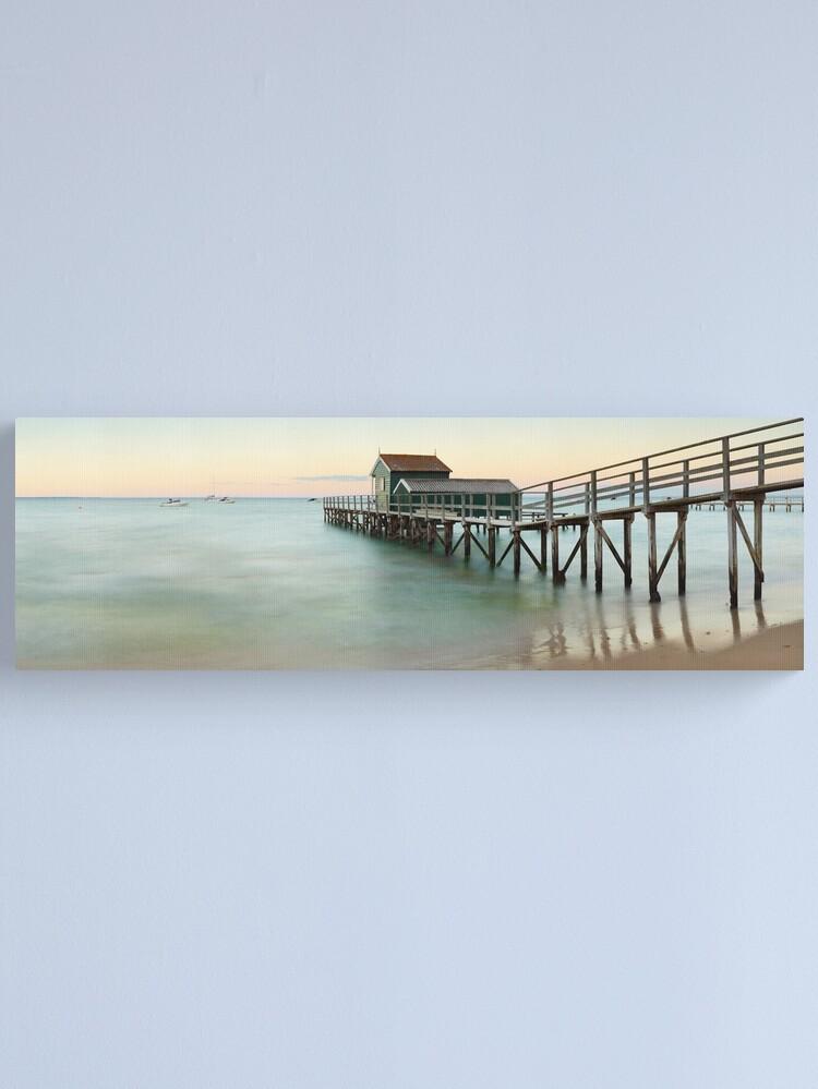 Alternate view of Portsea Pier, Mornington Peninsula, Victoria, Australia Canvas Print