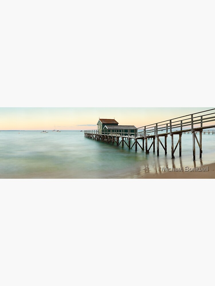 Portsea Pier, Mornington Peninsula, Victoria, Australia by Chockstone