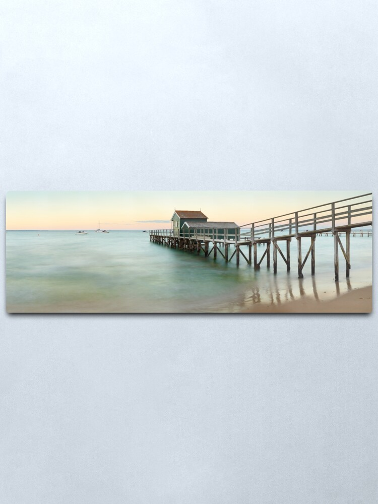 Alternate view of Portsea Pier, Mornington Peninsula, Victoria, Australia Metal Print