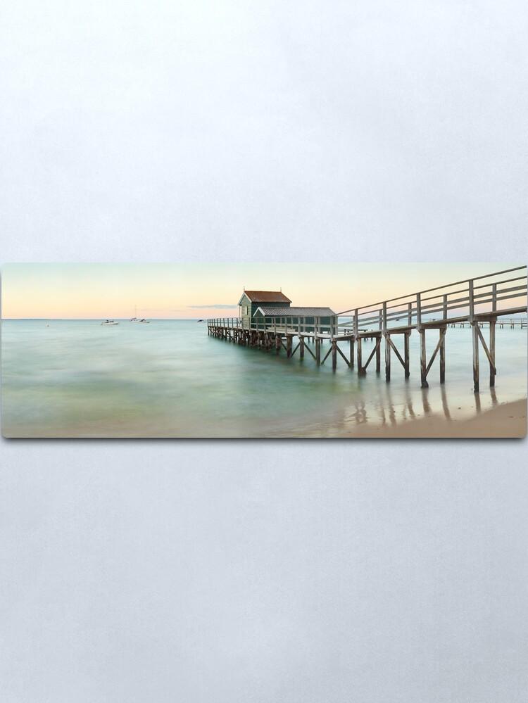 Alternate view of Portsea Pier, Mornington Peninsula, Victoria, Australia Metal Print