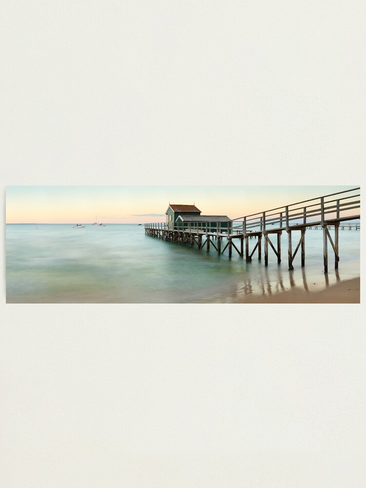 Alternate view of Portsea Pier, Mornington Peninsula, Victoria, Australia Photographic Print