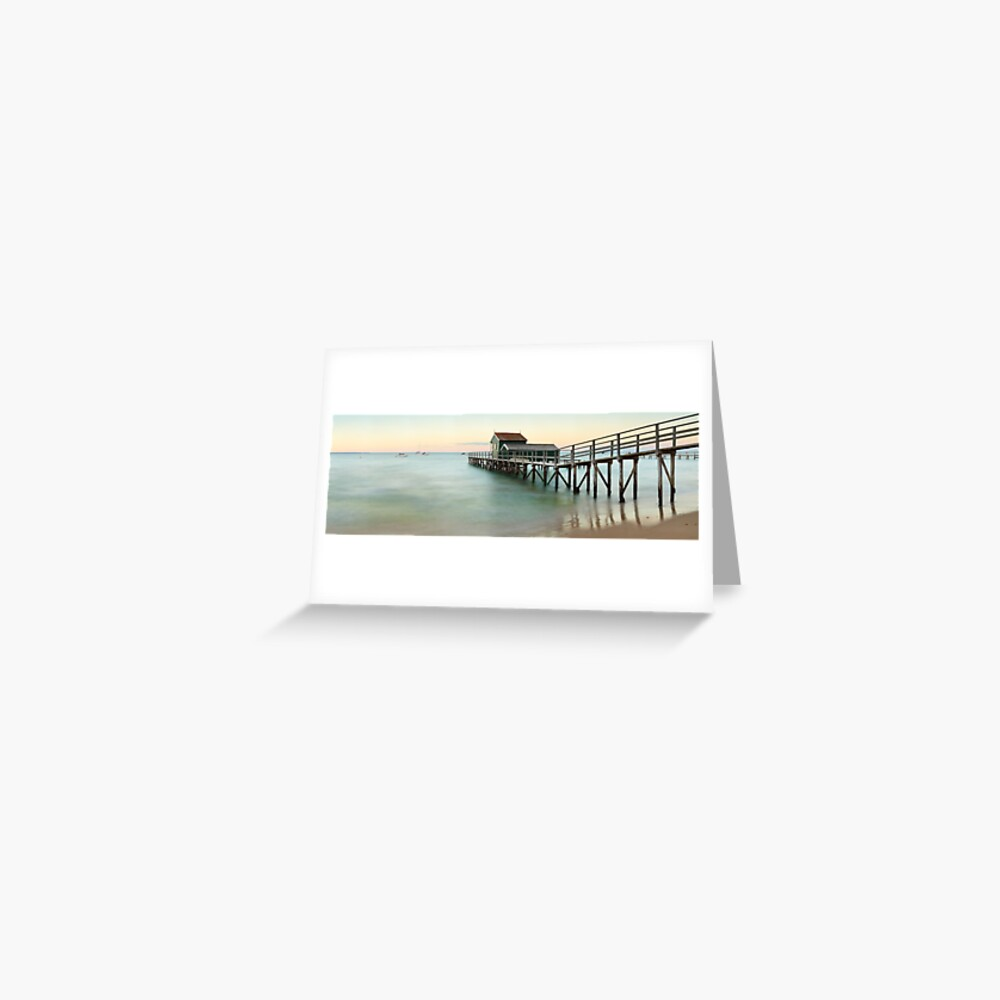 Portsea Pier, Mornington Peninsula, Victoria, Australia Greeting Card