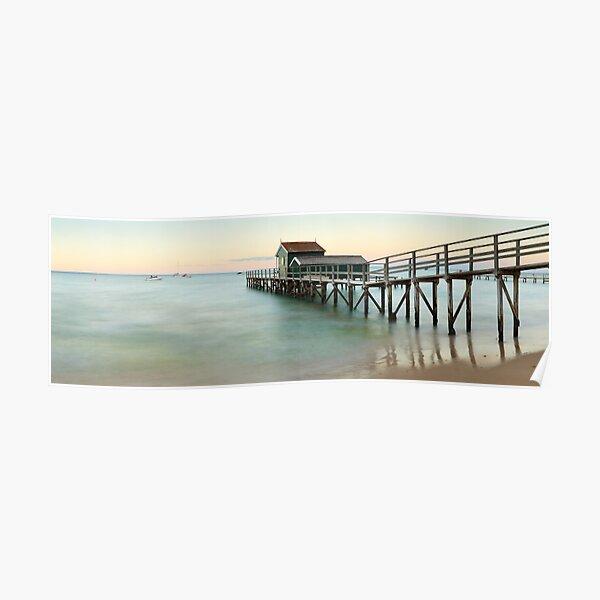 Portsea Pier, Mornington Peninsula, Victoria, Australia Poster