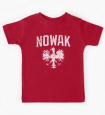 Nowak Polish Heritage t shirt Kids Tee