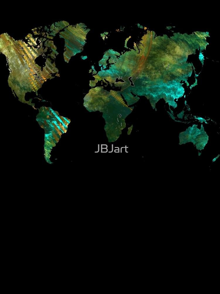 world map #worldmap #map by JBJart