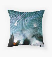 Lasers @ Glastonbury 2010 Throw Pillow
