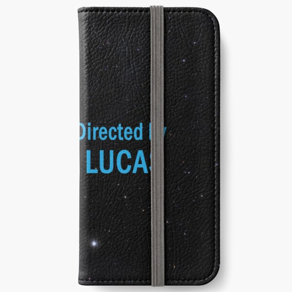 Written and Directed by George Lucas iPhone Wallet
