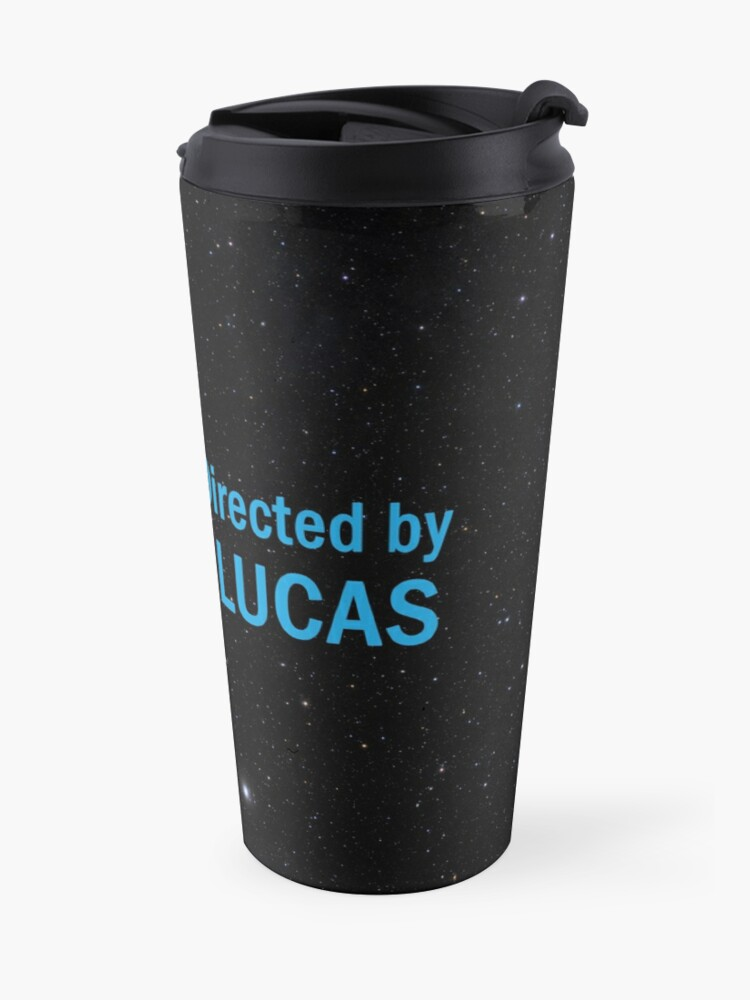 Alternate view of Written and Directed by George Lucas Travel Mug