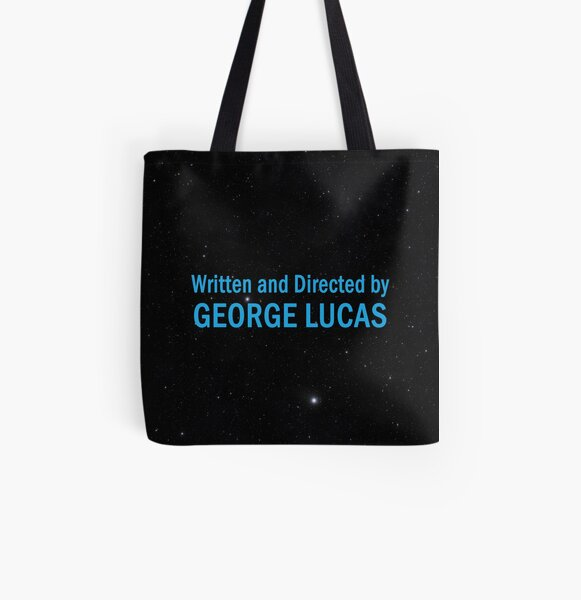 Written and Directed by George Lucas All Over Print Tote Bag