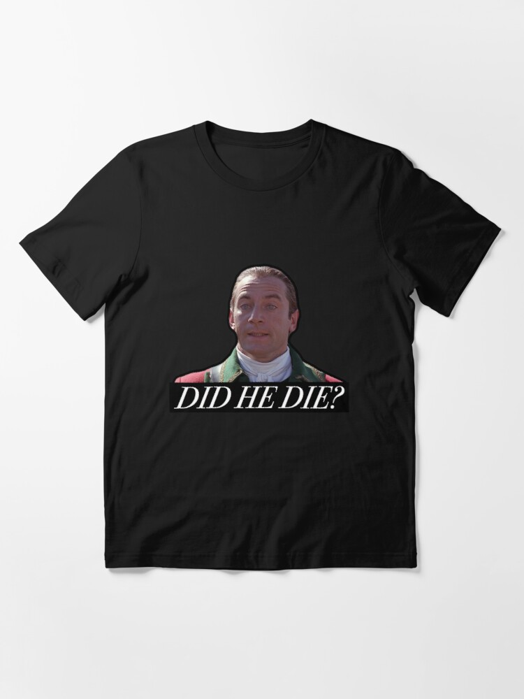 Alternate view of The Patriot - Did He Die? Essential T-Shirt