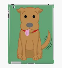 Happy Staffie iPad Case/Skin